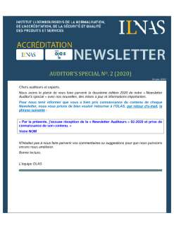 Newsletter Auditeurs Juin 2020