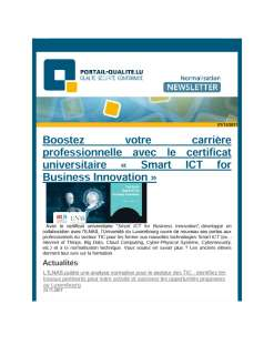 Newsletter normalisation novembre 2017