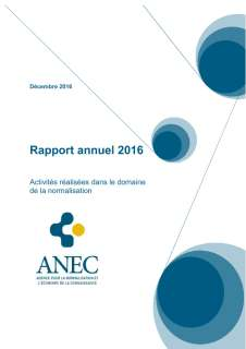 ANEC Normalisation - Rapport annuel - 2016
