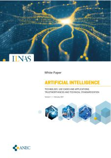 ILNAS white paper « Artificial Intelligence - Technology, Use Cases and Applications, Trustworthiness and Technical Standardization »